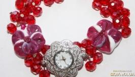 Часы ′Гранатовые косточки′
