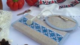 Набір Ключниця та футляр для навушників