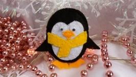 Брошь Пингвин