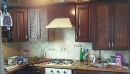Кухня ручной работы из дерева