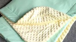 Детское одеяло, плед, конверт на выписку. Плюш Минки