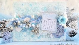 Зимний подарочный набор
