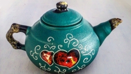 Чайник 600 мл., декор ′Серце′