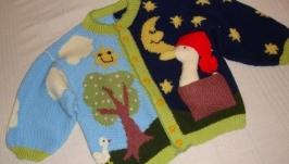 детская кофта ′День и ночь′