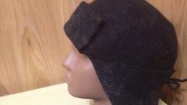 Валяная мужская шапочка
