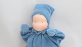 Вальдорфская кукла-звезда, кукла-бабочка