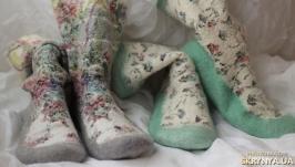 Валяные носки носочки