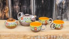 Чайний набір ′Вінок′ жовтий