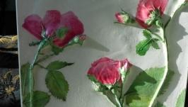 Панно Розовые розы
