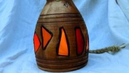 Керамічний світильник