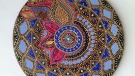 тарілка декоративна ′Яскрава Індія′