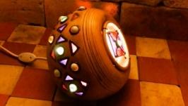 Настільна лампа ручної роботи