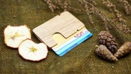 Картхолдер для банковских карт и купюр