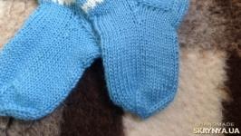 Носочки детские вязаные