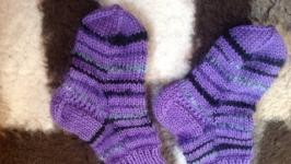 Носочки вязаные детские - Копия