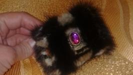 Меховый браслет из норки