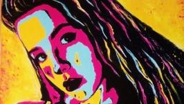 Портрет на заказ в стиле Pop-Art