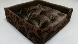Лежак место лежаночка кроватка для мини собак, терьера,шпица,тоя,кота