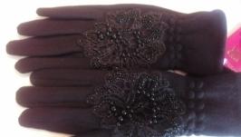 Элегантные женские перчатки