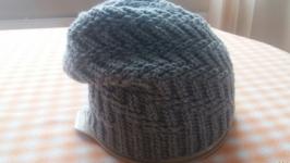 Мужская шапка-бини узором ′Протектор′