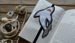 Закладка для книг Акула