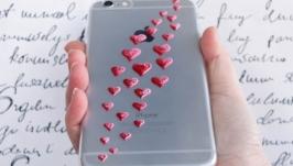 Чехол ′Сердечки′