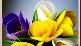 Цветы. Ручная работа