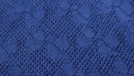 Одіяльце в*язане з італійської пряжі з вмістом шерсті меріноса