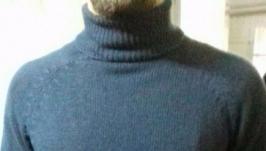 свитер гольф из итальянской пряжи