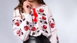 Женская украинская вышиванка ′Роза′