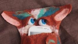 чехол для телефона ′рыжий кот′