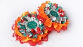 Резинки для девочек Папина радость, детские бантики