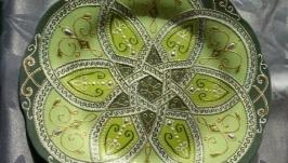 Интерьерная тарелочка ′Нафиса′