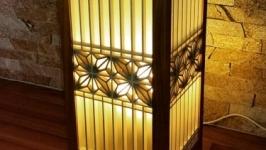 Светильник в японском стиле