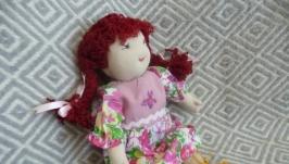 Кукла Маринка вальдорфская техника