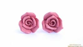 Серьги ′Роза′