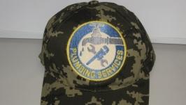 Кепка, бейсболка с логотипом  ′Сантехник′