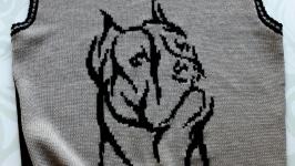 Мужской жилет ′Год собаки′