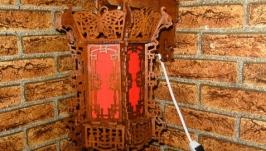 Светильник-бра «китайский фонарь» №010
