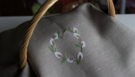 Полотенце на пасхальную корзину