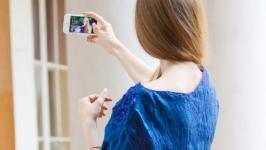 Блуза шелковая асимметричная с эффектом креш. Нуновойлок