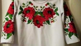 Вишивана сорочка жіноча