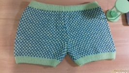 мужские трусы шорты ручная работа, натуральная шерсть, свяжу на заказ