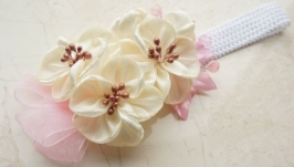 Повязка с цветами ′Жасмин′ №118