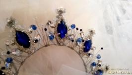 Ободок-корона ′Сапфир′
