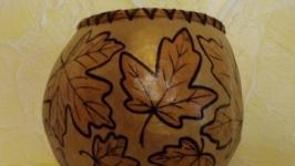 Конфетница ′Кленовый лист′