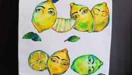 Еко торба ′Лимонний задум′