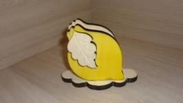 Салфетница Лимон