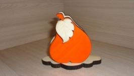 Салфетница Груша оранжевая