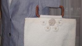 Ретро-сумка с цветами
